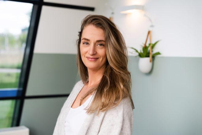 Danielle van Eldik praktijkhouder en huidtherapeut bij Huidtherapie Eemland